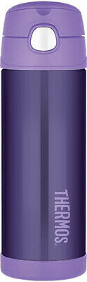 AU23 • Buy THERMOS Drink Bottle 470ml Purple AUTHENTIC Kids Lunch Box Back To School