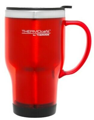 AU9.50 • Buy THERMOS Thermocafe Plastic Outer Travel Mug 470ml RED