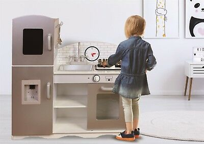 Kiddi Style Contemporary Cook4me XLarge Childrens Kids Play Toy Wooden Kitchen • 64.99£