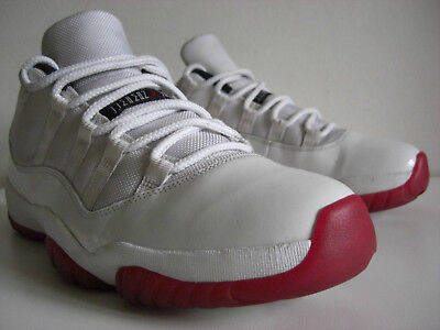 san francisco cab35 ff3b3 2012 Nike Air Jordan 11 XI Varsity Red Low Retro 528895-101 US 11,
