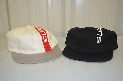 $ CDN97.04 • Buy SUPREME Stripe 6 Panel Black White Box Logo Camp Cap F/W 18