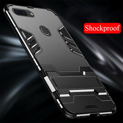 AU6.97 • Buy For OPPO F9 F7 F5 F3 A83 A59 Shockproof Slim Armor Hybrid Stand Back Case Cover