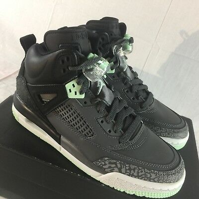 separation shoes c431f c9b62 Nike Jordan Spizike GG Youth Sz 5.5Y Basketball Shoes Black Grey Cement Mint  NEW •
