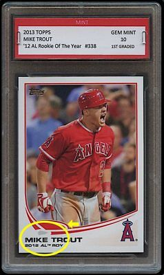 Mike Trout Topps Rookie Card