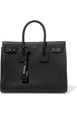 AU3400 • Buy Saint Laurent Ysl Small Sac Du Jour Bag Black Authentic Nwt Boutique Fresh