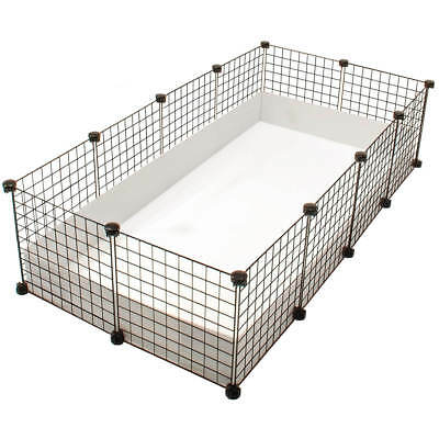 C & C LARGE INDOOR GUINEA PIG 4 By 2 CAGE / Kit HUTCH RUN Cheapest On Ebay • 35£