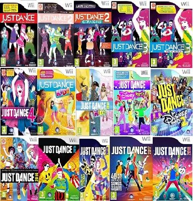 Wii Just Dance Wii Nintendo Assorted Game Excellent - Fast Delivery • 19.99£