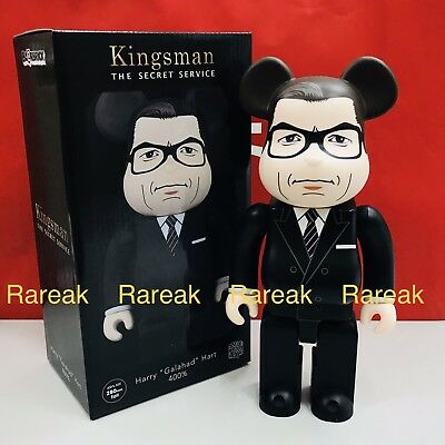 $119.99 • Buy Medicom Bearbrick 2018 Kingsman Harry Galahad Hart Secret Service 400% Be@rbrick