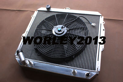 AU255 • Buy 3 Rows Aluminum Radiator + Fan For Pajero NH NJ NL NK 3.5L V6 Petrol 1994-2000