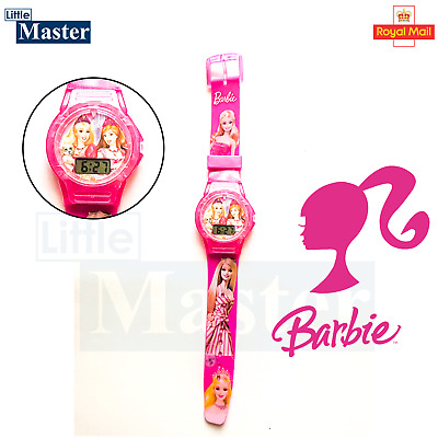 £4.45 • Buy  Barbie Digital Rubber Band Wrist Watch High Quality Best Gift For Her UK Seller