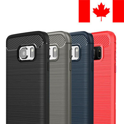 $ CDN6.99 • Buy Brushed Tpu Soft Case Cover Skin For Samsung Galaxy S7 Edge