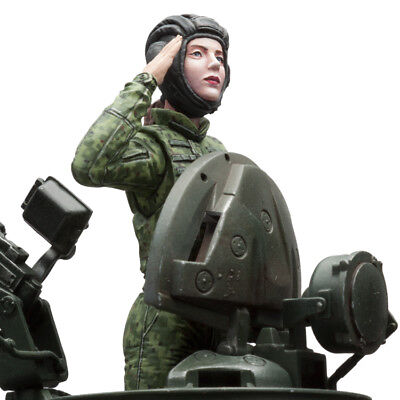 £35.66 • Buy SOL RESIN FACTORY,SCALE 1/16, Russia Female Tank CommanderII,cat.no. MM238,120mm