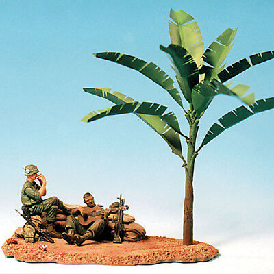 Sol Resin Factory, Mm070, 1/35, U.s Marines At Rest (2 Figures + Base) • 27.27£
