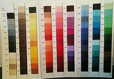 Sateen Lesur Polyester Cotton 100% Sewing Thread 100m Every Colour Stocked • 1.55£