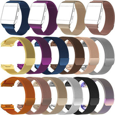 $ CDN7.81 • Buy S/L Fr Fitbit Ionic Stainless Steel Mesh Milanese Loop Magnetic Watch Strap Band