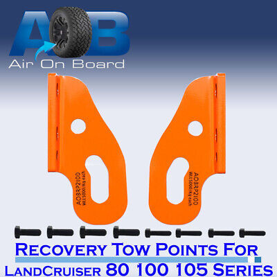 AU87 • Buy Recovery Towing Point For Toyota LandCruiser 80 100 105 Series Heavy Duty