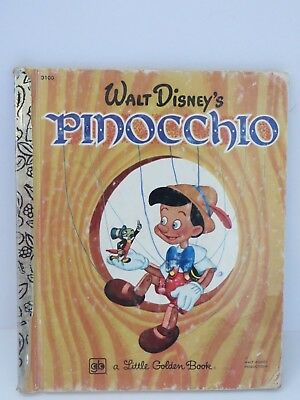 £2.76 • Buy Little Golden Book Pinocchio Walt Disney