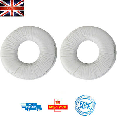 X2 Replacement Ear Pads For SONY MDR-ZX100 ZX300 WHITE Headphone Cushion • 4.08£