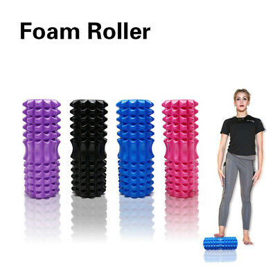 AU36.75 • Buy Hollow Foam Roller Trigger Point & Deep Tissue Massage Physical Gym Fitness