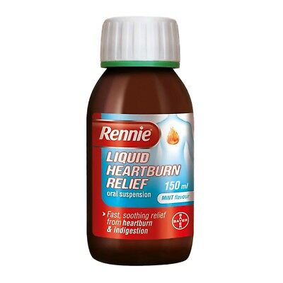 Rennie Liquid Mint Flavour For Heartburn And Indigestion 150ml - Multibuy • 9.29£
