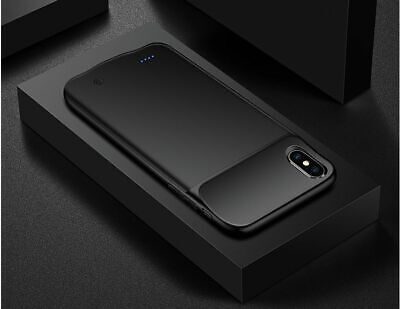 AU64.50 • Buy Slim Battery Case For IPhone XS Max X XR 8 Plus Phone Charging Cover Power Bank