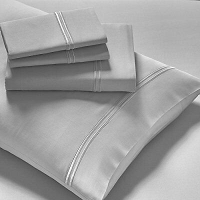 New Purecare Arbor Premium Modal Long-Staple Cotton Dove Gray Sheet Set • 189.90$
