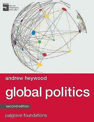 Global Politics By Andrew Heywood 9781137349262 (Paperback, 2014) • 30£
