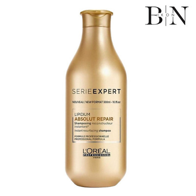 L'Oreal Shampoo - SE ABSOLUT REPAIR LIPIDIUM 300ml (Worth £31.99)GENUINE PRODUCT • 25.99£