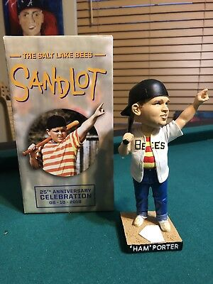 $ CDN50.75 • Buy Salt Lake Bees Ham Porter Sandlot Bobblehead NIB