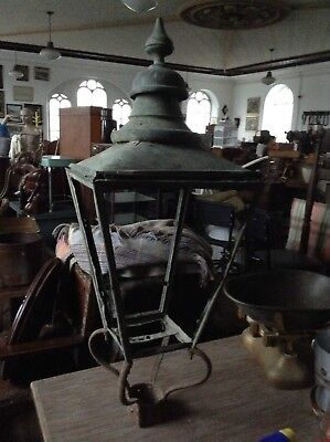 Architectural Salvage Antique Light Top  For Lamp Post • 195£