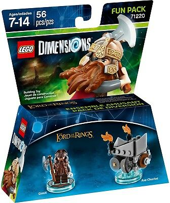 AU29.95 • Buy Lego Dimensions Level Pack 71220 - Gimli Lord Of The Rings - Brand New Sealed