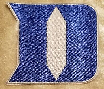 $6.95 • Buy Duke University Blue Devils 3.5  Iron Or Sew On Embroidered Patch ~FREE Ship`!!