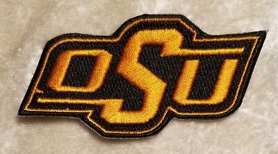 $4.95 • Buy Oklahoma State University OSU Cowboys Iron/Sew On Embroidered Patch ~FREE Ship!!