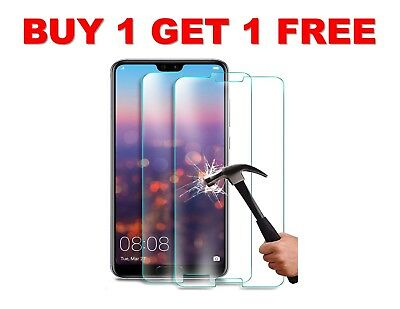 Huawei P10 LITE Screen Protector Tempered Glass Screen Protector Case Friendly • 2.75£