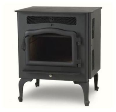 $2852.74 • Buy Country Flame Little Rascal Wood Pellet Stove With Black Door & Legs