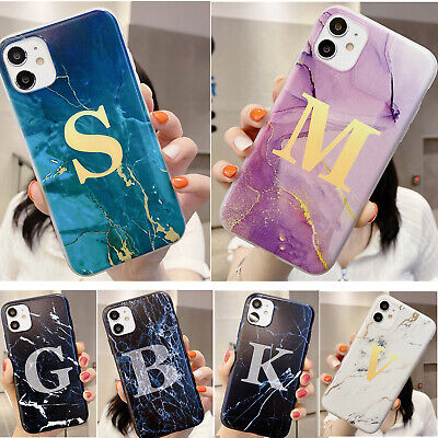 AU9.99 • Buy Shockproof Ultra-thin Granite Marble Patterned Back Silicone Soft Case Cover Lot