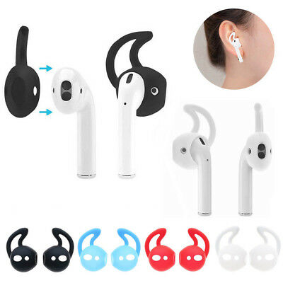 $ CDN3.51 • Buy 5 Pairs Silicone Ear Hooks Earbuds Holder Case Cover With Hook For Apple AirPods