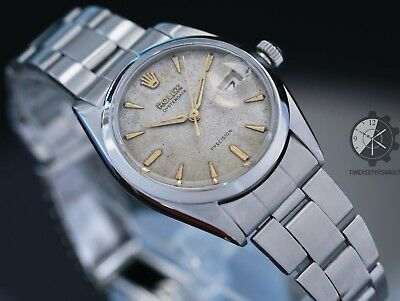 $ CDN5780.31 • Buy Rolex Vintage Mens Oyster Date Precision 6694  34mm Manual Winding