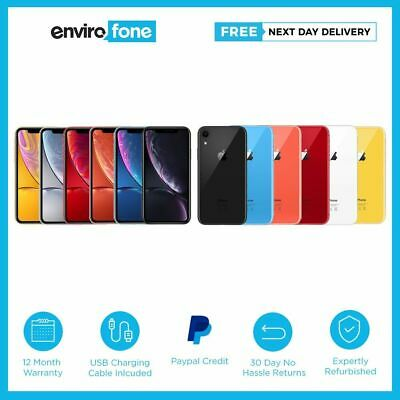 View Details Apple IPhone XR 64GB 128GB 256GB All Colours Unlocked Refurbished Smartphone • 639.00£