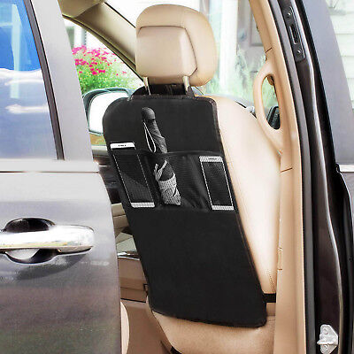 AU15.19 • Buy Car Backseat Organizer Kick Mat For Baby Travel Accessories, Kids Toy Storage