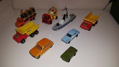 Collection Of Vintage Matchbox, Corgi And Dinky Toys (1970s)  • 29.99£