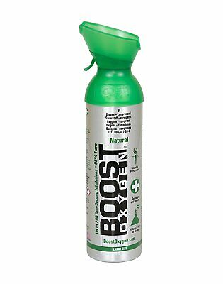 Boost Oxygen 9l Oxygen Therapy Oxygen In A Can Natural Flavour - New Larger Can  • 21.99£