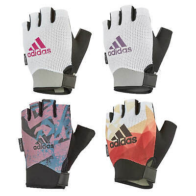 £10.99 • Buy Adidas Womens Performance Gloves Ladies Gym Weight Lifting Fitness Workout