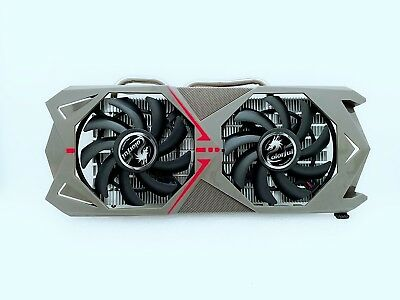AU80.29 • Buy For Colorful GTX1060 Flame Wars 1060/1070 3G 6G Radiator Cooling Fan Assembly