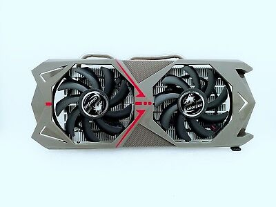 AU70.80 • Buy For Colorful GTX1060 Flame Wars 1060/1070 3G 6G Radiator Cooling Fan Assembly