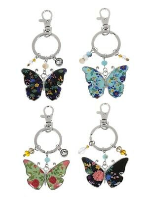 $11.99 • Buy Ganz E9 Car Purse Backpack Accessory Keychain Key Ring Butterfly ER53673 Choose