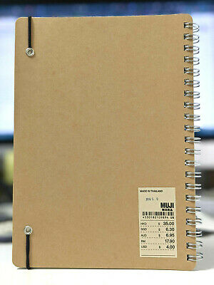 AU18.95 • Buy Muji Japan Bullet Journal A5 Dotted Smooth Paper Notebook Diary