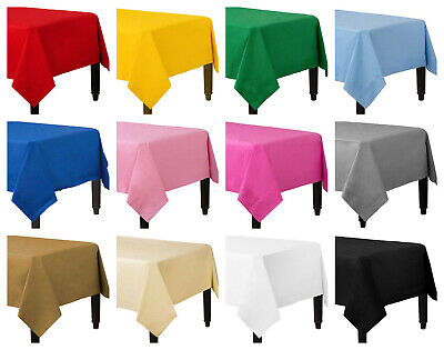 £2.50 • Buy Disposable Paper Table Covers / Table Cloths 13 Colors Available Birthday Party