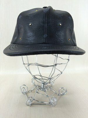 1a73ac6f84bd0 MCM Studded Cap Logo Total Handle Fake Leather Snap Back (K45068 • 366.67