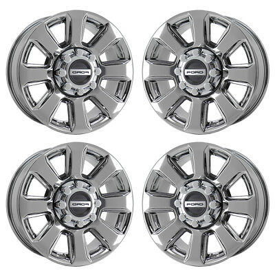 $795 • Buy 20  Ford F250 F350 Platinum Pvd Chrome Wheels Rim Factory Oem Set 10103 Exchange